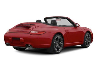 Ruby Red Metallic 2012 Porsche 911 Pictures 911 Cabriolet 2D 4S AWD photos rear view