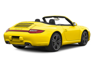 Racing Yellow 2012 Porsche 911 Pictures 911 Cabriolet 2D S photos rear view