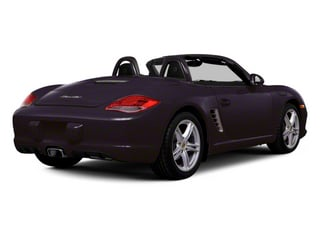 Amethyst Metallic 2012 Porsche Boxster Pictures Boxster Roadster 2D photos rear view