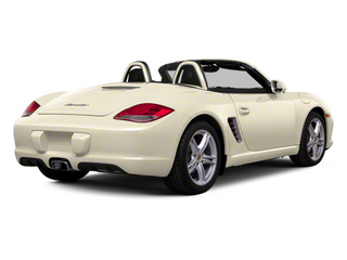 Cream White 2012 Porsche Boxster Pictures Boxster Roadster 2D S photos rear view
