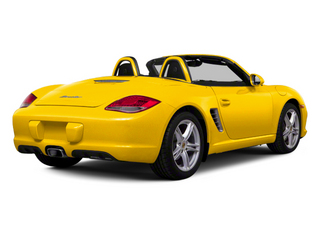Speed Yellow 2012 Porsche Boxster Pictures Boxster Roadster 2D photos rear view