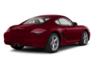 Ruby Red Metallic 2012 Porsche Cayman Pictures Cayman Coupe 2D R photos rear view