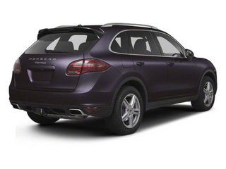 Amethyst Metallic 2012 Porsche Cayenne Pictures Cayenne Utility 4D Turbo AWD (V8) photos rear view