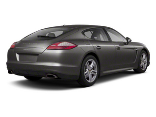 Carbon Grey Metallic 2012 Porsche Panamera Pictures Panamera Hatchback 4D Turbo AWD photos rear view