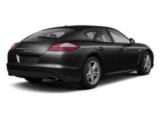 Black 2012 Porsche Panamera Pictures Panamera Hatchback 4D Turbo AWD photos rear view