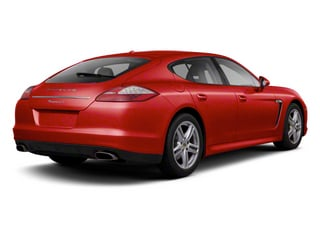 Ruby Red Metallic 2012 Porsche Panamera Pictures Panamera Hatchback 4D Turbo AWD photos rear view