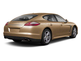 Luxor Beige Metallic 2012 Porsche Panamera Pictures Panamera Hatchback 4D Turbo AWD photos rear view