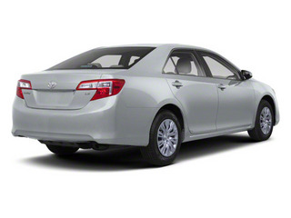 Classic Silver Metallic 2012 Toyota Camry Pictures Camry Sedan 4D LE photos rear view
