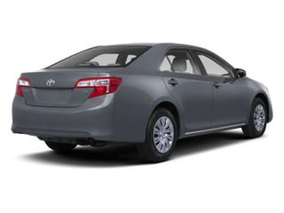 Cosmic Gray Mica 2012 Toyota Camry Pictures Camry Sedan 4D LE photos rear view