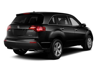 Crystal Black Pearl 2013 Acura MDX Pictures MDX Utility 4D Technology AWD V6 photos rear view