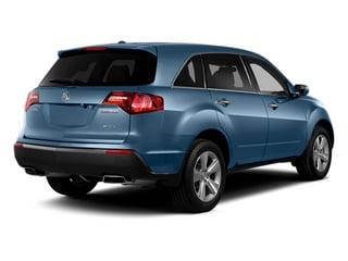 Bali Blue Pearl 2013 Acura MDX Pictures MDX Utility 4D Technology AWD V6 photos rear view