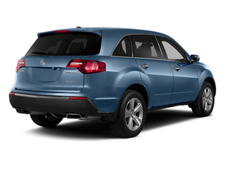 Bali Blue Pearl 2013 Acura MDX Pictures MDX Utility 4D Technology DVD AWD V6 photos rear view