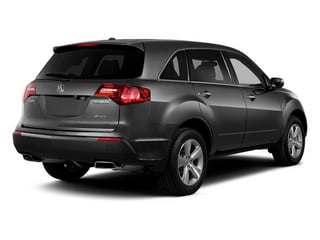 Graphite Luster Metallic 2013 Acura MDX Pictures MDX Utility 4D AWD V6 photos rear view