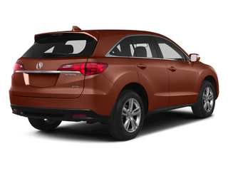 Amber Brownstone 2013 Acura RDX Pictures RDX Utility 4D AWD photos rear view