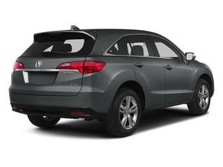 Graphite Luster Metallic 2013 Acura RDX Pictures RDX Utility 4D AWD photos rear view