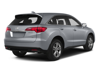 Forged Silver Metallic 2013 Acura RDX Pictures RDX Utility 4D 2WD photos rear view