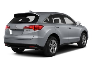 Forged Silver Metallic 2013 Acura RDX Pictures RDX Utility 4D AWD photos rear view