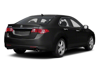 Crystal Black Pearl 2013 Acura TSX Pictures TSX Sedan 4D I4 photos rear view