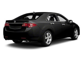 Crystal Black Pearl 2013 Acura TSX Pictures TSX Sedan 4D Technology I4 photos rear view