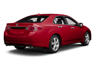 Milano Red 2013 Acura TSX Pictures TSX Sedan 4D Technology I4 photos rear view