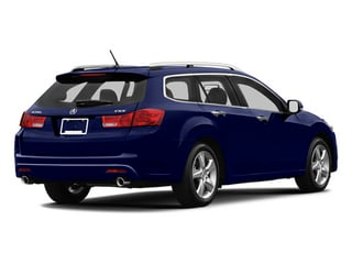 Vortex Blue Pearl 2013 Acura TSX Sport Wagon Pictures TSX Sport Wagon 4D Technology I4 photos rear view