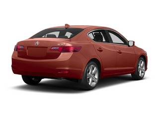 Amber Brownstone Metallic 2013 Acura ILX Pictures ILX Sedan 4D Technology photos rear view