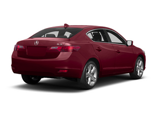 Crimson Garnet Pearl 2013 Acura ILX Pictures ILX Sedan 4D Technology photos rear view