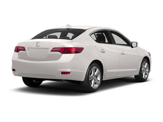 Bellanova White Pearl 2013 Acura ILX Pictures ILX Sedan 4D Technology photos rear view