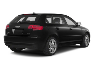 Brilliant Black 2013 Audi A3 Pictures A3 Hatchback 4D 2.0T Premium photos rear view