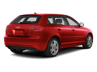 Brilliant Red 2013 Audi A3 Pictures A3 Hatchback 4D 2.0T Premium photos rear view