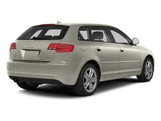 Ice Silver Metallic 2013 Audi A3 Pictures A3 Hatchback 4D 2.0T Premium photos rear view