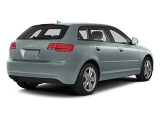 Monza Silver Metallic 2013 Audi A3 Pictures A3 Hatchback 4D 2.0T Premium photos rear view