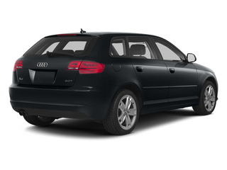 Meteor Gray Pearl 2013 Audi A3 Pictures A3 Hatchback 4D 2.0T Premium photos rear view