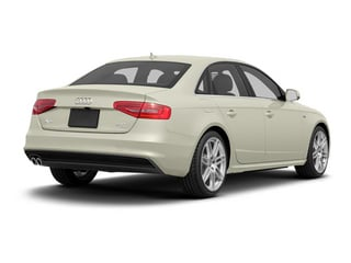 Glacier White Metallic 2013 Audi A4 Pictures A4 Sedan 4D 2.0T Prestige AWD photos rear view