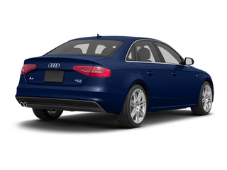 Scuba Blue Metallic 2013 Audi A4 Pictures A4 Sedan 4D 2.0T Prestige AWD photos rear view