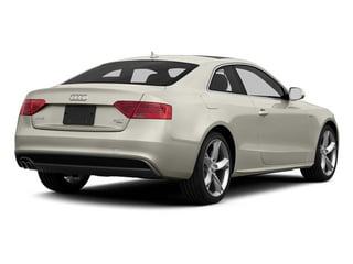 Ice Silver Metallic 2013 Audi A5 Pictures A5 Coupe 2D S-Line AWD photos rear view