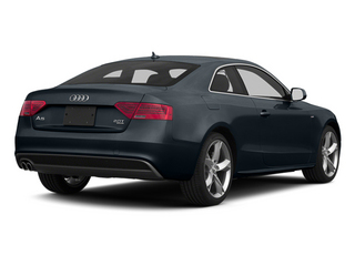 Moonlight Blue Metallic 2013 Audi A5 Pictures A5 Coupe 2D S-Line AWD photos rear view