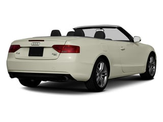Glacier White Metallic 2013 Audi A5 Pictures A5 Convertible 2D Prestige 2WD photos rear view
