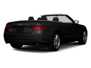 Brilliant Black 2013 Audi A5 Pictures A5 Convertible 2D Prestige 2WD photos rear view