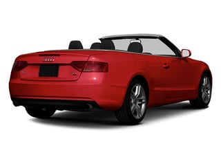 Brilliant Red 2013 Audi A5 Pictures A5 Convertible 2D Premium 2WD photos rear view