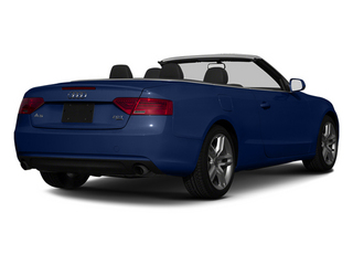 Scuba Blue Metallic 2013 Audi A5 Pictures A5 Convertible 2D Prestige 2WD photos rear view