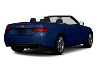 Scuba Blue Metallic 2013 Audi A5 Pictures A5 Convertible 2D Premium 2WD photos rear view