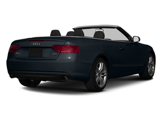 Moonlight Blue Metallic 2013 Audi A5 Pictures A5 Convertible 2D Premium 2WD photos rear view