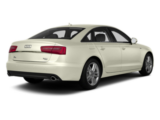 Glacier White Metallic 2013 Audi A6 Pictures A6 Sedan 4D 2.0T Premium AWD photos rear view