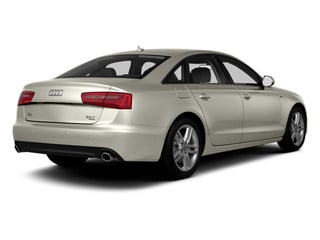 Ice Silver Metallic 2013 Audi A6 Pictures A6 Sedan 4D 2.0T Premium 2WD photos rear view