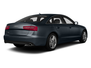 Moonlight Blue Metallic 2013 Audi A6 Pictures A6 Sedan 4D 2.0T Premium Plus 2WD photos rear view