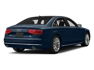 Night Blue Pearl 2013 Audi A8 L Pictures A8 L Sedan 4D 6.3 L AWD W12 photos rear view