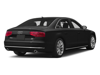 Phantom Black Pearl 2013 Audi A8 L Pictures A8 L Sedan 4D 6.3 L AWD W12 photos rear view