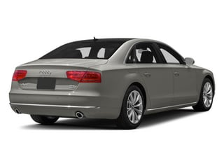 Quartz Gray Metallic 2013 Audi A8 L Pictures A8 L Sedan 4D 3.0T L AWD V6 Turbo photos rear view