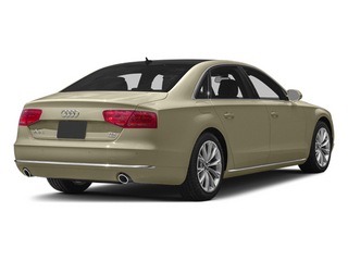 Savana Beige Pearl 2013 Audi A8 L Pictures A8 L Sedan 4D 3.0T L AWD V6 Turbo photos rear view